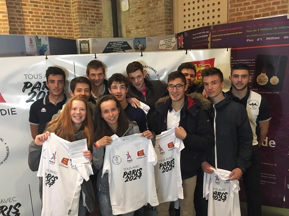 L 39 aviron normand soutient paris 2024 l 39 aviron en normandie - Ligue haute normandie tennis de table ...